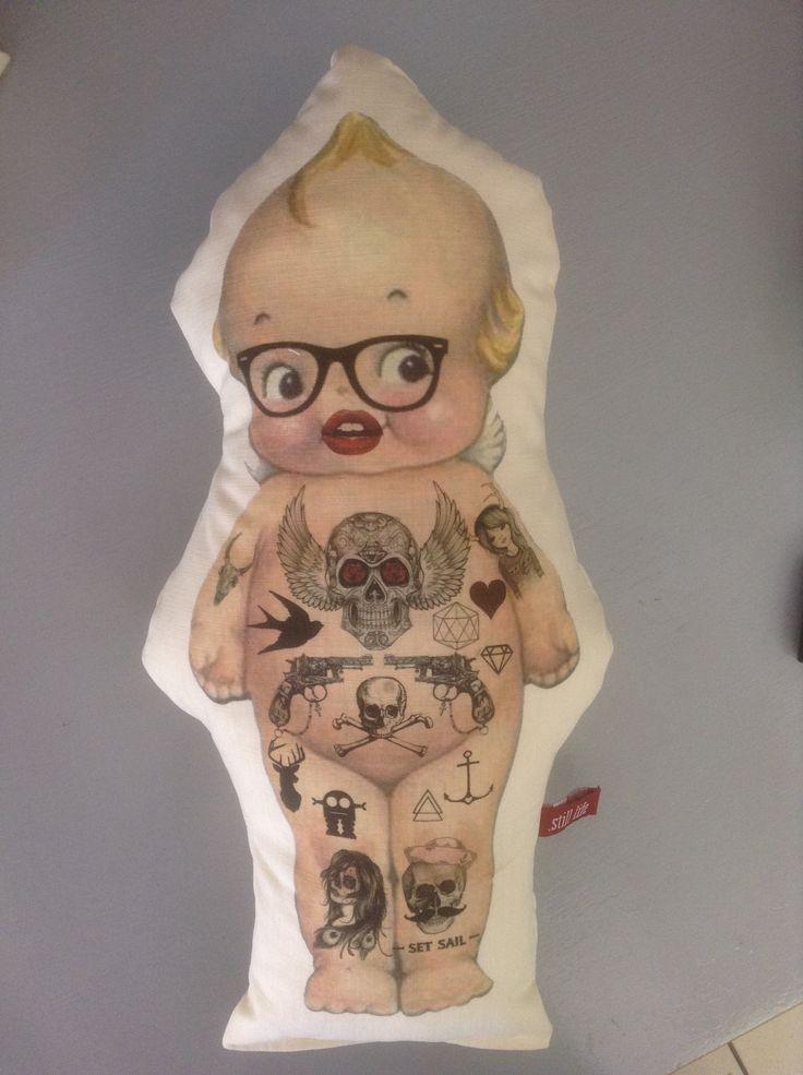 Still life decor Cape Town South Africa #tattoo#QP#dolls#pillows R265