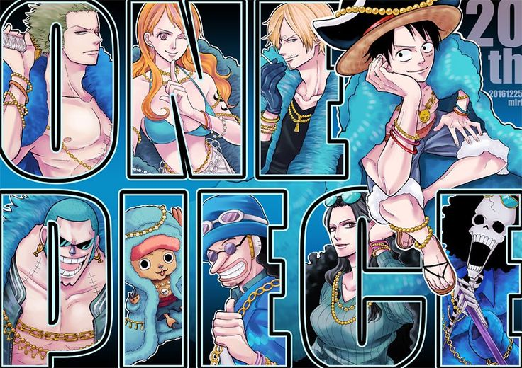 One Piece, Strawhat Pirates