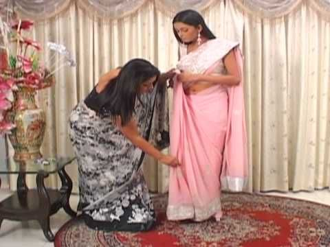 Really good sari video... okay this doesn't really go with anything but I need to pin this video somewhere