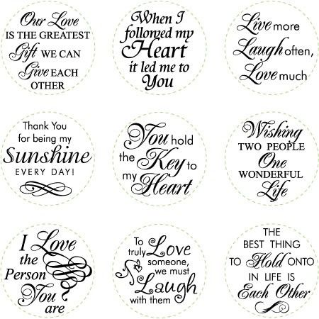 Short love quotes - nice topography by MarylinJ