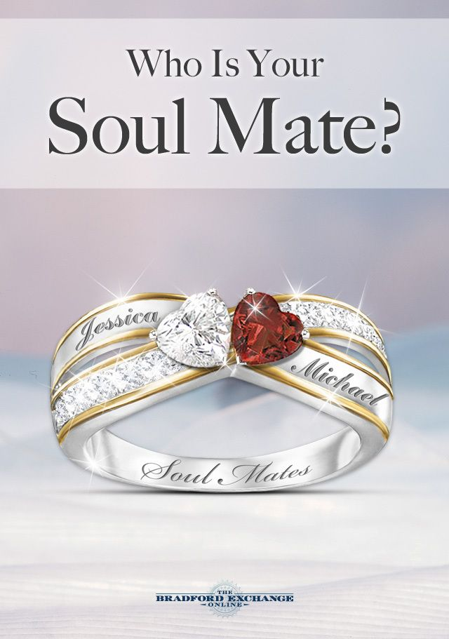 When 2 hearts become 1, the power of love is forever binding. Celebrate your soul mate with this distinctive custom ring and personalize it with your 2 names for free..