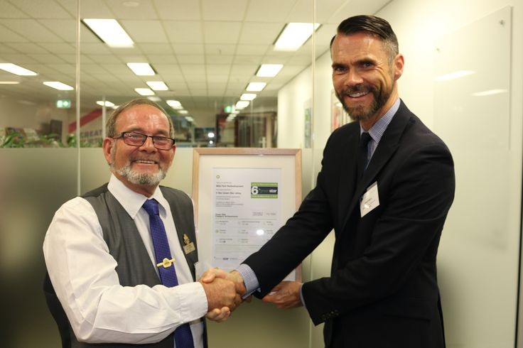 Speak with the GBCA events team to arrange have your Green Star Certificate presented by a GBCA rep at your building's opening or special event.