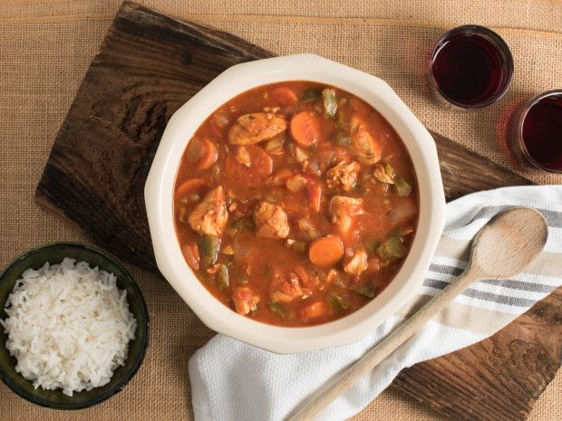 Make and share this Cajun-Style Chicken Gumbo recipe from Food.com.