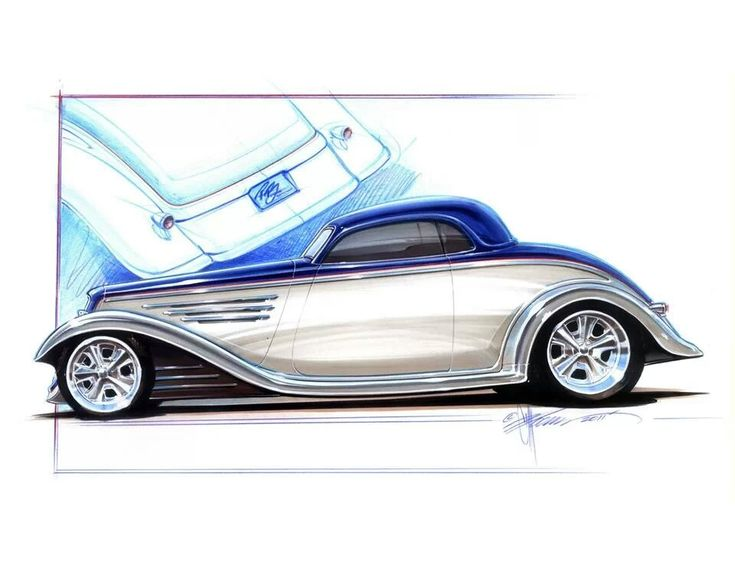 Chip Foose concept rendering..