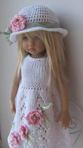 Hand Knit Doll Outfit Set for 13'' BJD Helen Kish Diana Effner | eBay