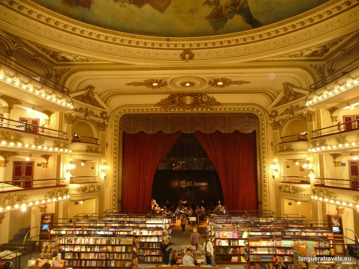 El Ateneo in Buenos Aires