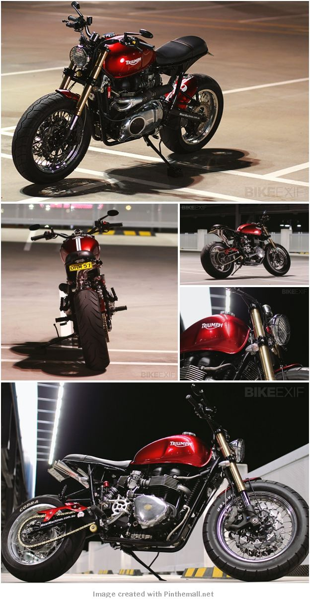 TRIUMPH BONNEVILLE BY MEANMACHINES - created via http://pinthemall.net