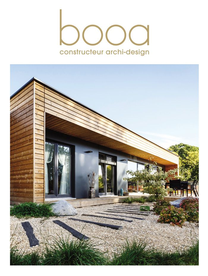 booa collection 2016 catalogue du constructeur fran ais de maisons ossature bois archi design. Black Bedroom Furniture Sets. Home Design Ideas