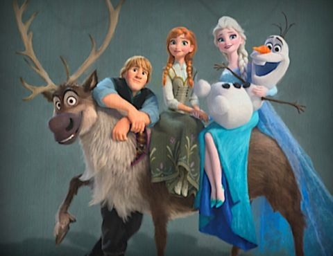 These Just Released Images From the New Frozen Film Are a Must See!