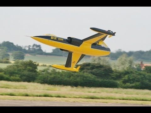 LARGE SCALE RC LOCKHEED F104 STARFIGHTER AT WINGS & WHEELS RC MODEL AIRCRAFT SHOW - 2013 - YouTube