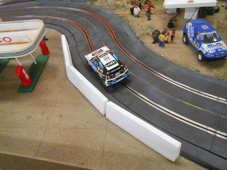 1/32 slot car Scenery Jersey Barrier Guard Rails Ninco Scalextric Slot It NSR | eBay