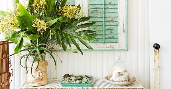 Take a tour of this coastal-style home on Sydney's Northern Beaches where the decor is 40 years in the making.