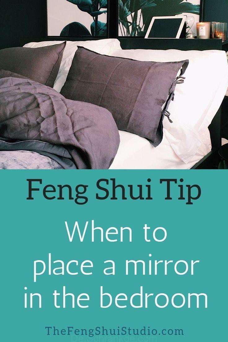 Obwohl wir geraten in Feng-Shui-vermeiden Sie Spiegel im ...