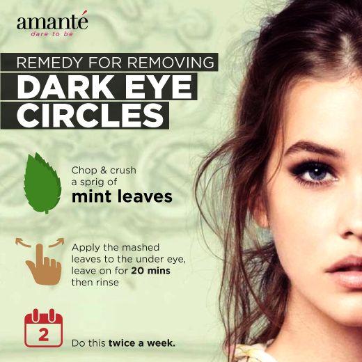 No more dark eye circles!