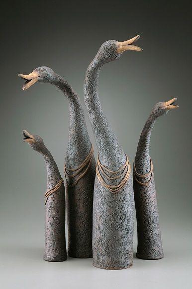 Bird Necks H(12.5 inches, 23.5 inches, 25 inches, 15 inches)