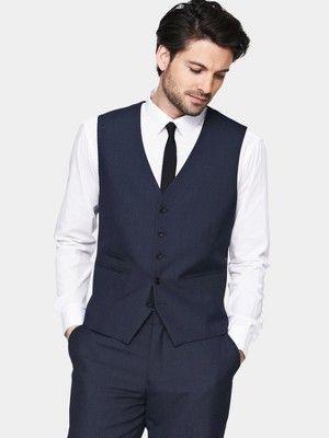 Skopes Skopes Pv Mens Suit Waistcoat in Blue for Men (sharpe_blue)