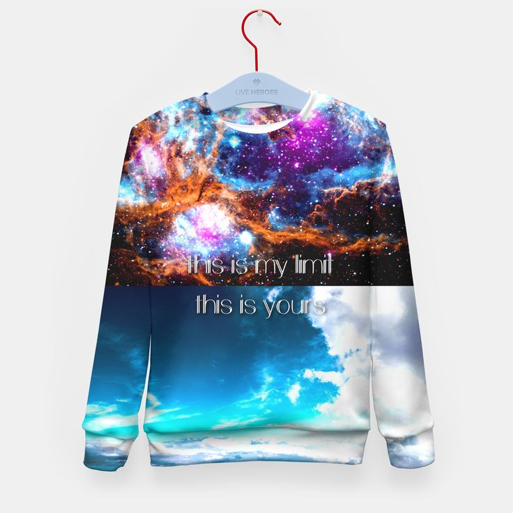 Give your kid a present! Create and give it a full 3D print sweater that it dreamed of. Stylish, warm, comfortable and very durable. No matter how often you wash it, the print won't fade away and won't loose its shape.Live Heroes guarantees the highest quality of all products purchased. If your order isn't what you expected, feel free to contact our Customer service team. We'll do our best to make you fully satisfied.Estimated shipping time from 3-14 workingdays.