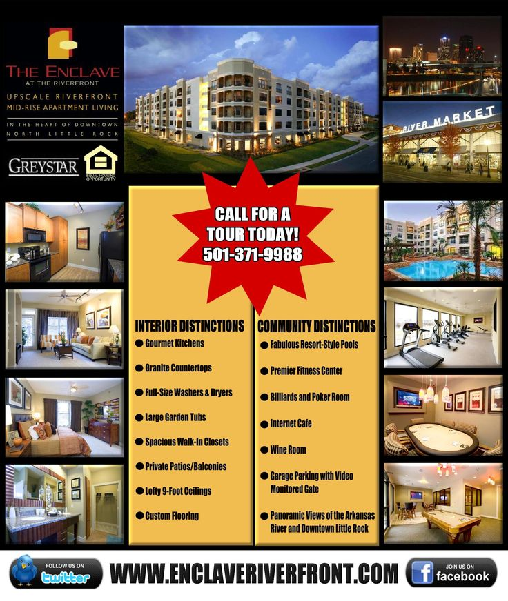 A Flyer I Created As An Advertisement For Our Property