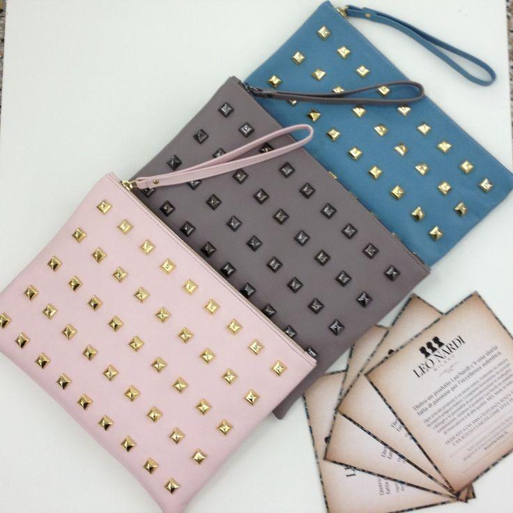 Leo Clucth by LEO NARDI! Scegli il colore che fa per te e personalizza la tua clutch su www.leonardimilano.it. C'è una Leo Clutch per ogni donna! Qual'è la tua?