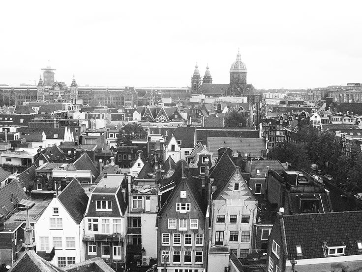Amsterdam x On top of the Old Church x 2015