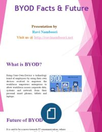 Ravi Namboori Dat- ByOD Facts Challenges & Future