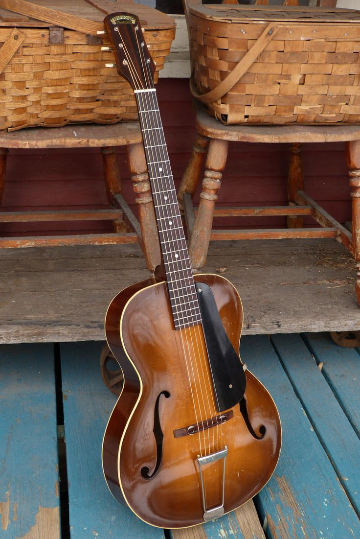 Antebellum Instruments: 1935 Epiphone Olympic Archtop Guitar