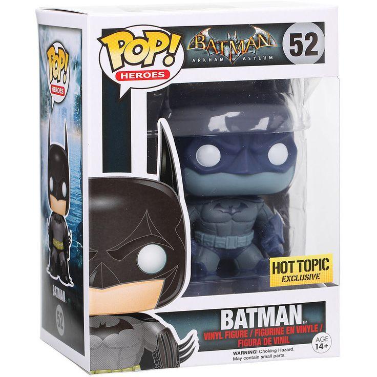 Funko Pop! Batman Arkham Asylum Hot Topic Exclusive