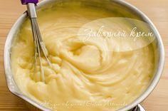 Заварной крем (крем кондитерский, патисьер, patisserie cream) - Жизнь - вкусная!