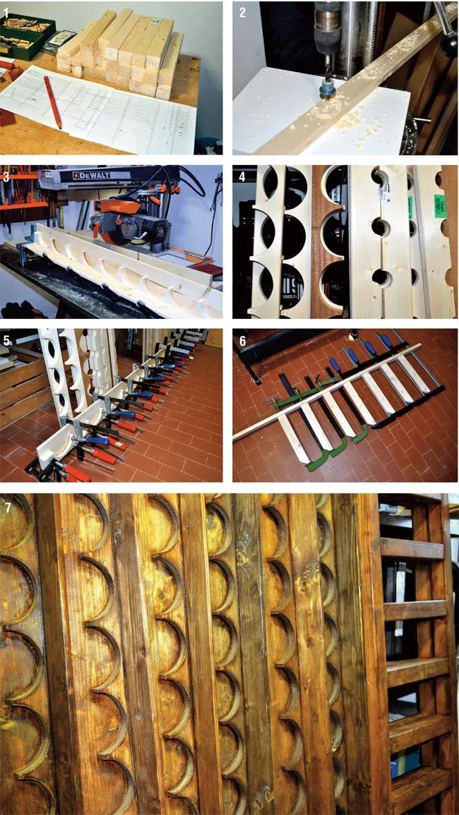 sagomatura pezzi di legno