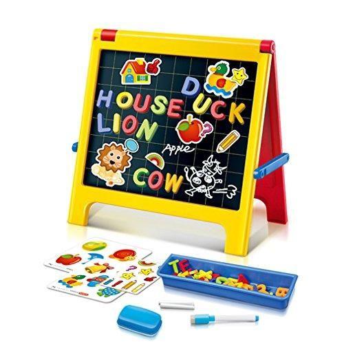 Oferta: 22.99€ Dto: -54%. Comprar Ofertas de Plegable Creativo del Negro Blanco Doble cara Tablero de Dibujo con el Alfabeto Magnético para Niños de 3 años barato. ¡Mira las ofertas!