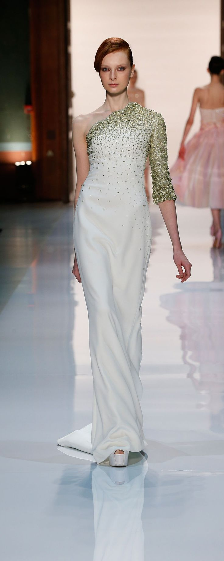 Hobeika Springsummer 2014 Couture Chic dress