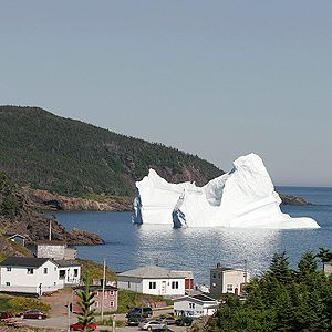 We Harvest Icebergs in Labrador and Newfoundland | Every spring, massive islands of ice broken off of glaciers in Greenland parade through 'Iceberg Alley', past the coast of Labrador and Newfoundland. Entrepreneurs are harvesting chunks of these cool marvels for some pretty unique products, including wine, vodka, beer, and even skincare products. | Photo © Newfoundland and Labrador Tourism