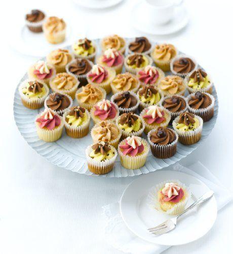 Mini summer cheesecakes