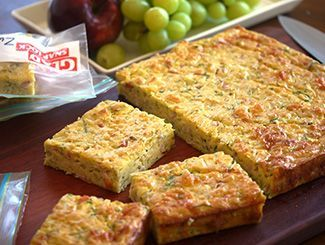 Zucchini Slice   You don't need to use so much oil though... and can vary other vegetable ingredients abit too ;)
