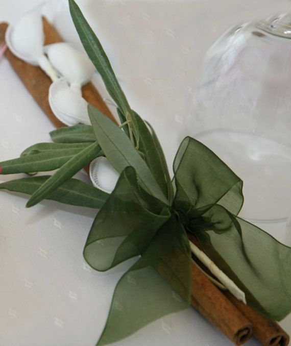 Greek Wedding Favors Olive Leaves on by PreciousandPrettygr