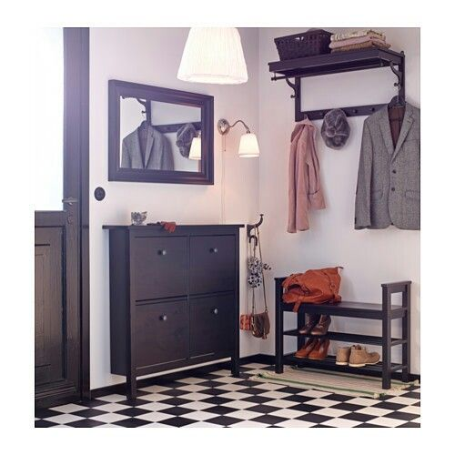 Shoe storage entryway table **** ikea