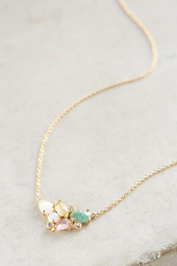 Slide View: 2: Austin Cluster Necklace