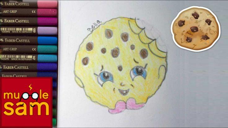 Kids Art Challenge! Draw Kooky Cookie Shopkins | Mugglesam