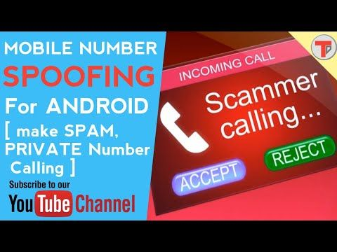 Android 6: Mobile number SPOOFING   make UNKNOWN calling