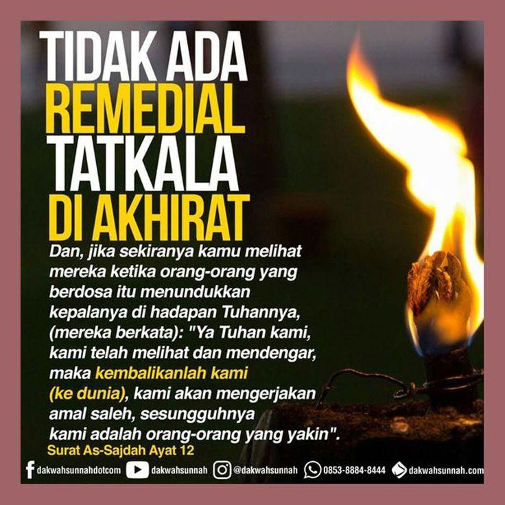http://nasihatsahabat.com #nasihatsahabat #mutiarasunnah #motivasiIslami #petuahulama #hadist #hadits #nasihatulama #fatwaulama #akhlak #akhlaq #sunnah  #aqidah #akidah #salafiyah #Muslimah #adabIslami #DakwahSalaf # #ManhajSalaf #Alhaq #Kajiansalaf  #dakwahsunnah #Islam #ahlussunnah  #sunnah #tauhid #dakwahtauhid #alquran #kajiansunnah #TidakAdaRemedial #diAkhirat #Sesalkemudian #TidakBerguna #QSAsSajdahAyat12