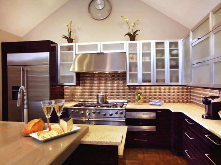 U shaped kitchen with peninsula hgtv pictures ideas for Galley kitchen designs with peninsula
