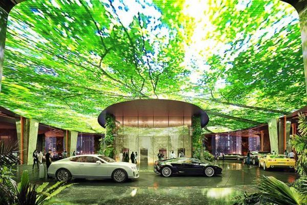 Rosement Hotel and Residences Dubai, Hotel Canggih Bertemakan Hutan Hujan - Gaya Loe