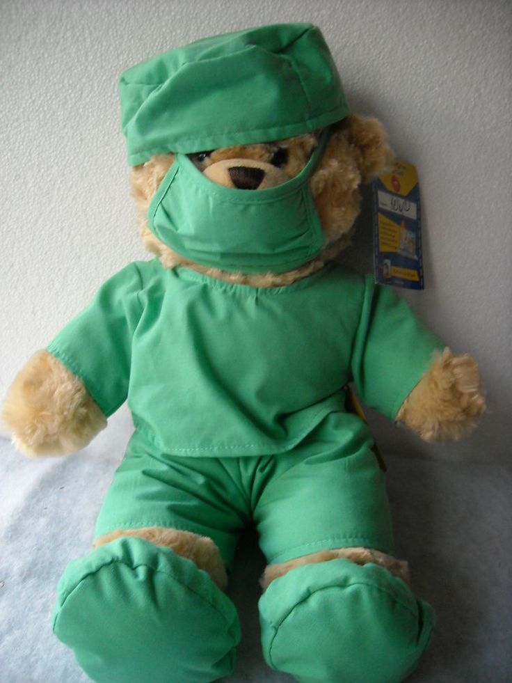 Build A Bear NWT Doctor Surgeon Outfit On The Bear Name