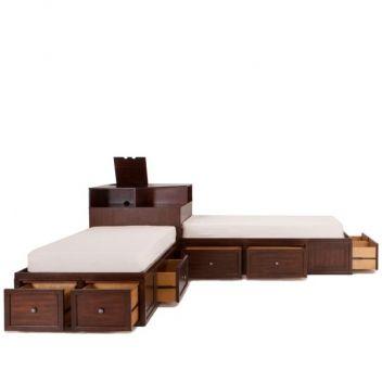 kids bedroom sale little spencer twin corner bed unit living rooms dining - Twin Bed Frame For Sale