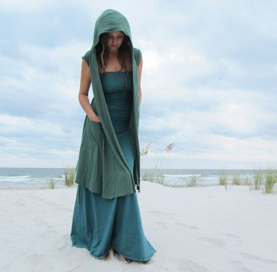 Hooded Perfect Pockets Short Jacket by gaiaconceptions on Etsy, $235.00  I just love this!
