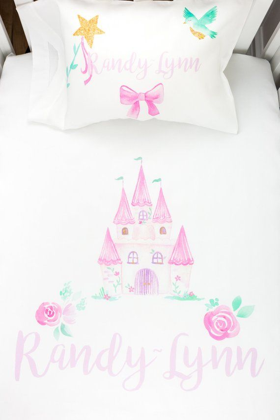 Toddler Bedding Set Princess Fairy Tale Girls Room Decor