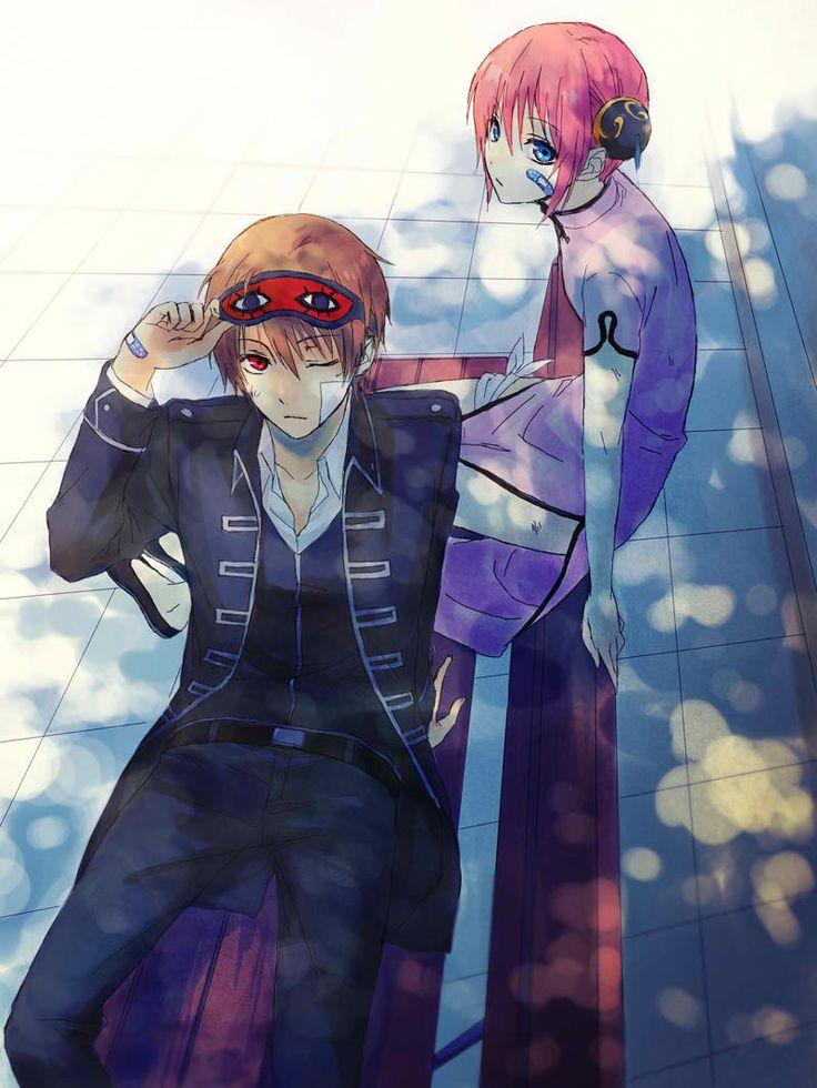 Okita & Kagura. Gintama