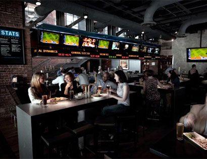 Upscale Sports Bar | stats Best Sports Bars In Atlanta