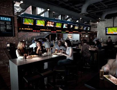 Upscale Sports Bar | stats Best Sports Bars In Atlanta