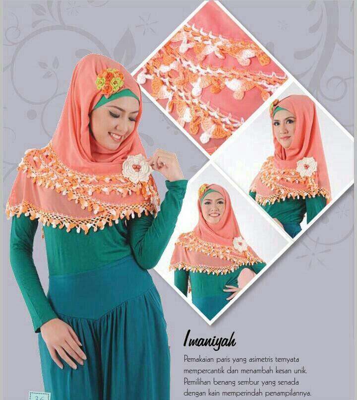 Hijab Rajut IMANIYAH (Kerudung segi empat)